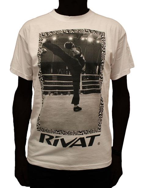 Tee-shirt Rivat boxe française savate Chaussure de BF Savate Boxe Française, modèle RIVAT BF SAVATE mat.2boxe