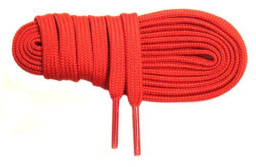 Lacet tubulaire polyamide adapté aux chaussures de boxe française savate